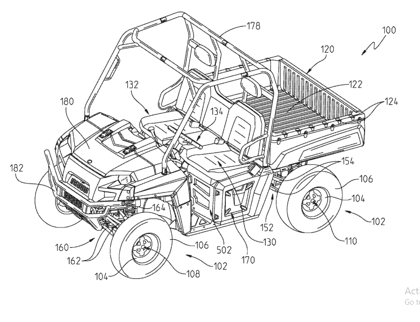 Electric Vehicle - US8480538B2 (Utility Patent) Patent Illustration Services