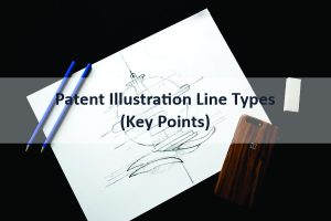 Patent Illustration Line Types (Key Points)